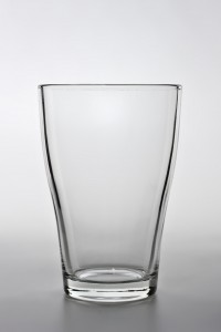 Das Glas ist leer