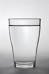 Das Glas ist voll